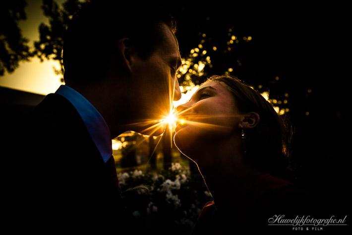 Bruidspaar Huwelijkreportage of Huwelijksreportage speciale effecten Stadskanaal, Lemmer, Dwingeloo